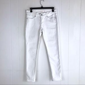 Levi's 711 The Skinny Leg Jeans in White